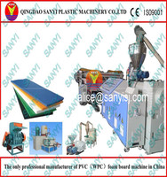 Wood-polymer composite(wpc) machine wpc product machine recycled material