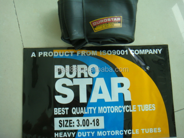 Butyl Natural Rubber Motorcycle Inner Tube (2.50/2.75-17)