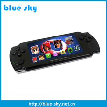 4.3-touch screen MP5 MP6 MP7 Game Player with 3D Games, loudspeaker,2.0 Mega pixel digital camera