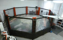 Moved UFC octagon fighting cage