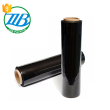 China experienced factory High Tensile Black Casting PE Stretch Film