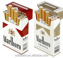 custom cardboard cigarette case/empty cigarette pack/packing tobacco boxes