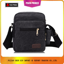 Fashion men canvas shoulder messenger bag China Supplier
