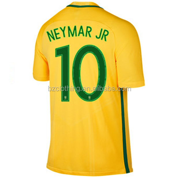 Neymar Jr #10 Top Thailand Quality Soccer Jerseys