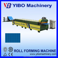 Manufacturer in zhejiang aluminium coloured yufa roofing sheet making roll forming machine