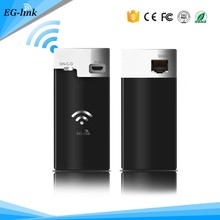 300mbps 3G 10400mah power bank wireless wifi repeater router