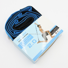 new 2 meters 1 Inch wide fitness Pilates stretch strap with booklet