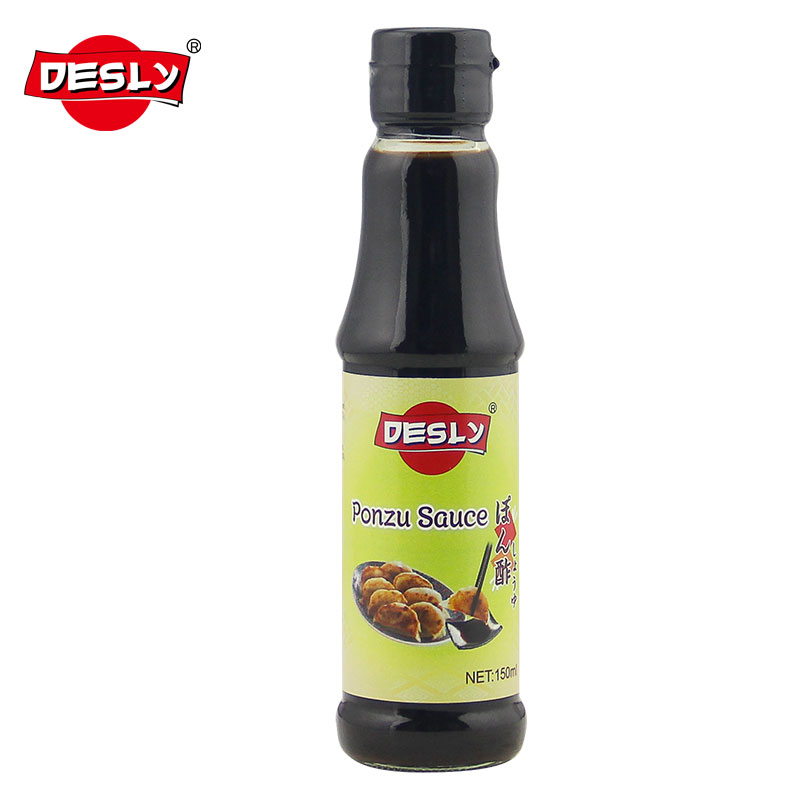 Japanese Sweet Soy Sauce Ponzu Sauce for Resturant 150ml