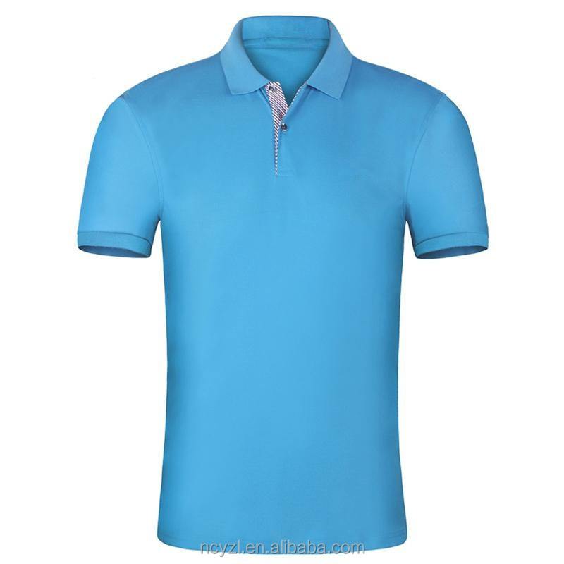 OEM custom latest polo shirt designs for men cheap colorful polo shirt 100% polyester no label polo shirt