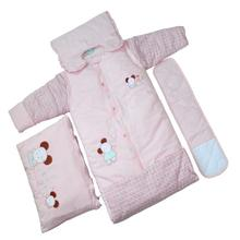 cotton kids backpacking sleeping bags with pillow sleep sack swaddle