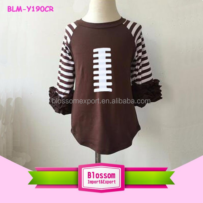 OEM Wholesale Womens 3/4 Sleeve Raglan Baseball Casual T Shirt Fashion Sports Raglan Tees