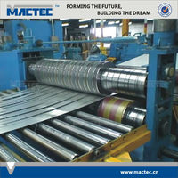 New type high quality sheet metal steel coil slitting line