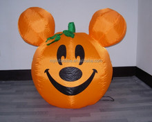 Interesting inflatable Halloween decoration of Pumpkin