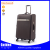 made in china luggages 2016 20 inch trolley suitcase PU leather high end spinner luggage