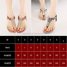 Women Sandals Bling Beading Plaftorm Wedges Shoes
