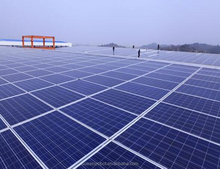 Solar Panel Manufacturer with Mounting Structure Design and Solar Mounting Aluminum Bracket