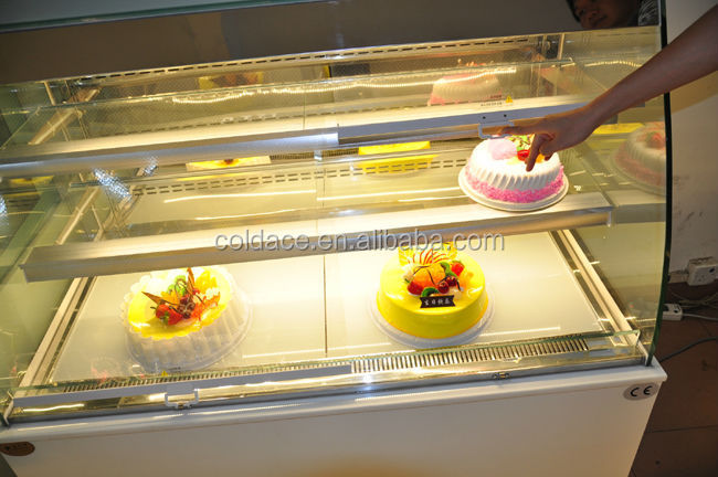 Open style display cake cabinet cold showcase display refrigerators