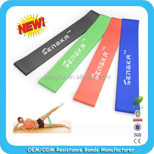Resistance band loop rubber band pilate yoga bands