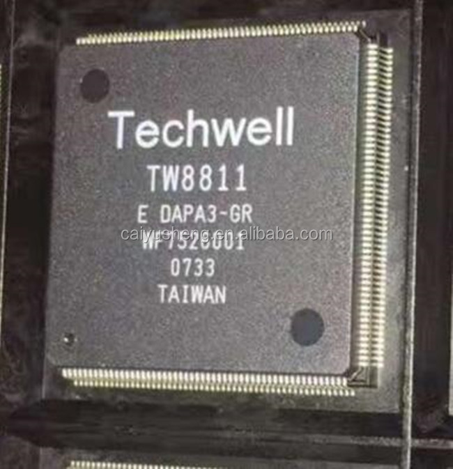 integrated circuits for TV TW8811-LC2-GR TW8811 QFP208