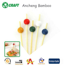 Decorative Bamboo Party Skewers/Sticks/Picks Crafts For Food