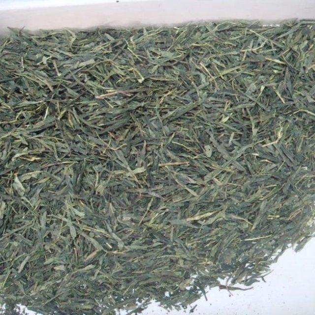 Japanese style sencha green tea