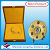 Medal display frames souvenir coin stand display