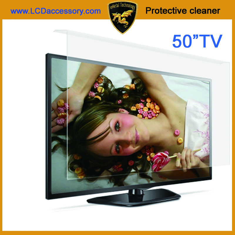 50 inch LCD LED anti radiation anti-scratch acrylic sheet anti scratch TV Protector