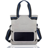 2016 new design shoulder bag with removable solar panel