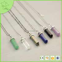 Custom Even More Precious Scarf Druzy Pendant Necklace Jewellery Wholesale