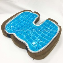 COOLING GEL PAD Foam Seat Cushion Premium Ultra Soft High Comfort Gel Pad make COOL Your Chair Cushion