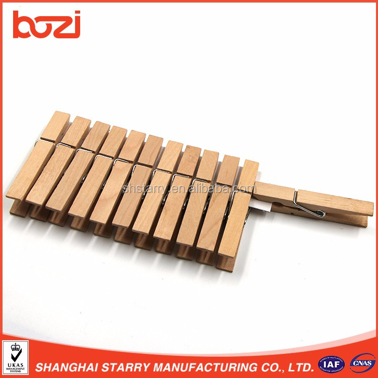 High Quality Clothes Hanging Wooden Pegs