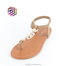 2018 Casual Latest Women Flat China Wholesale Sandals