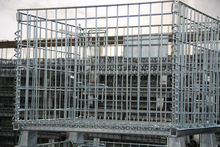 galvanized welded wire mesh cage(factory and exporter)