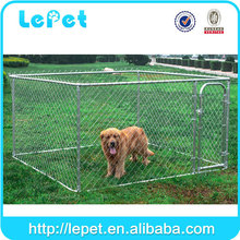 Manufacturer large cheap chain link galvanized breeding dog house for sale