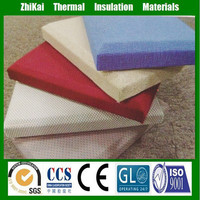 Acoustic wall panel/ Fiberglass wool panel for ceiling & wall