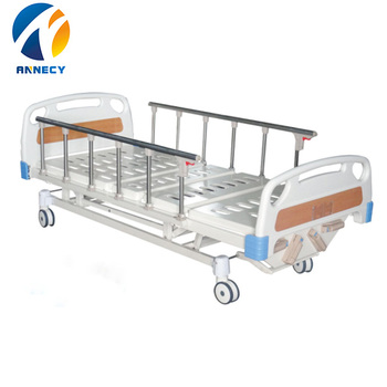 AC-MB001 4 cranks five function manual hospital bed manual for patient