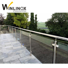 Wholesale stainless steel stair handrail outdoor metal deck railing