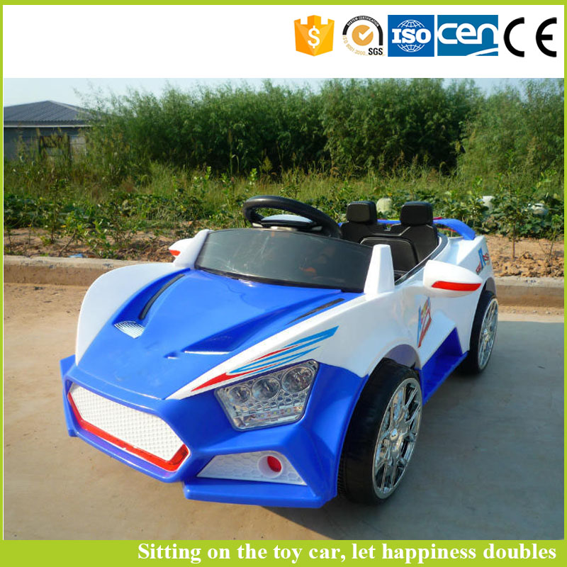 Factory price electric battery operated cars cheap luxury kid toy car