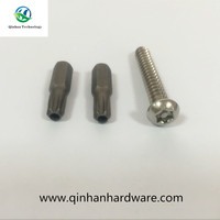 decorative m6 torx pan and big head anti-theft screws