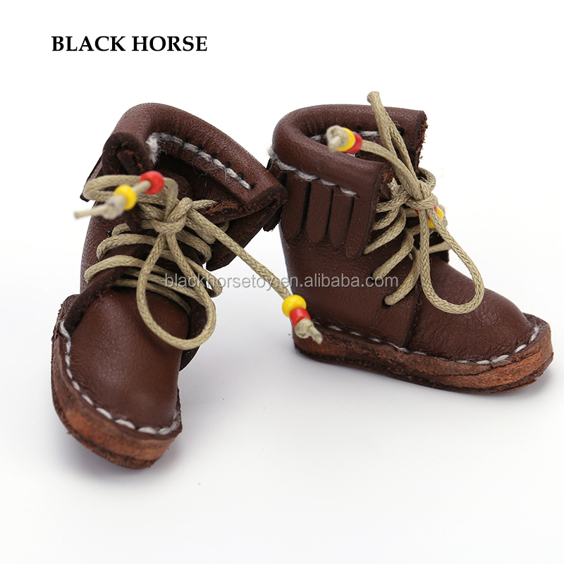 Customized Brown Color Doll Boots 1/6 for BJD Dolls Blythe Dolls Wholesale