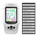 Dienmern air quality meter Gas detector  test PM2.5 PM1.0 PM10 HCHO TVOC AQI LCD color Screen