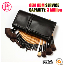24pcs color mini tnt halal natural hair cheap unique cosmetic set make up makeup <strong>brush</strong>