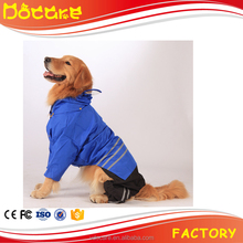 Large Dog Raincoat Pet Apparel Clothes for Large Pet Dog Big Size Waterproof