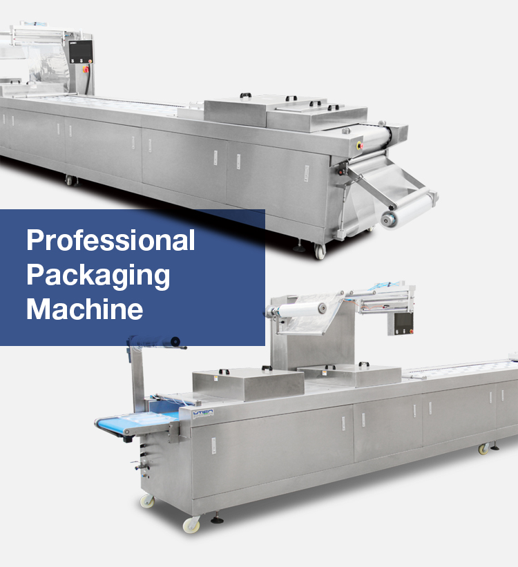 UTIEN Automatic thermoforming vacuum dates packaging machine