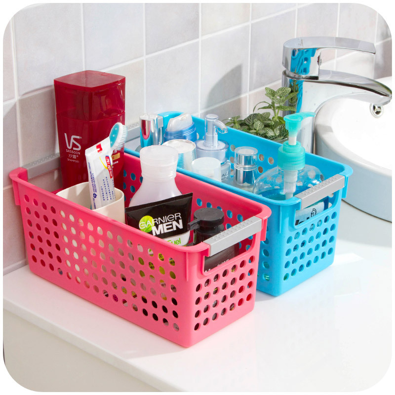 Home plastic debris storage box for toy toiletries clean tool