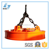 Magnetic Power Lift for Lifting Steel Scraps