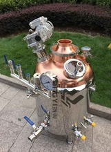 copper beer brewing equipment electric boiler