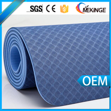 Premium quality TPE pilates yoga mat with carrying strap and yoga mat bag