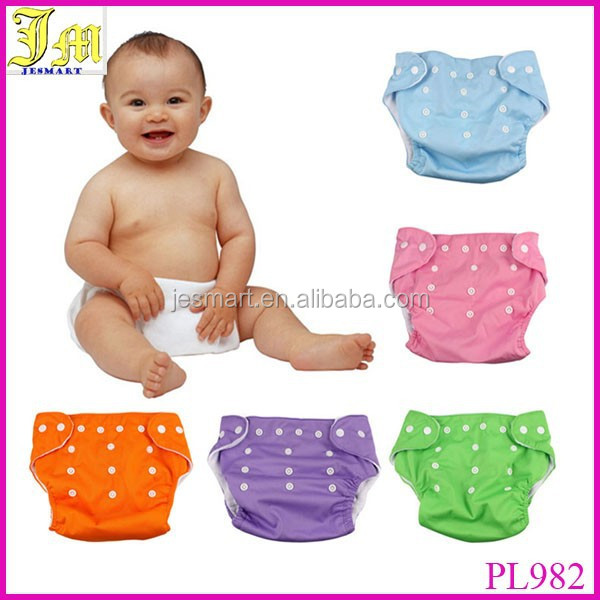 Hot Sales Waterproof Adjustable Cotton Baby Cloth Diapers Nappies Diaper Pants Boys Girls