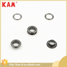Customized high quality fashion zinc alloy metal garment button eyelet with round shape